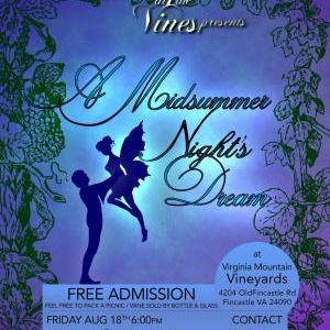 Shakespeare in the Vines, A Midsummer Night's Dream