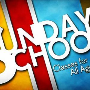 Calendar of Events - Sunday School - Nursery - Adult Classes