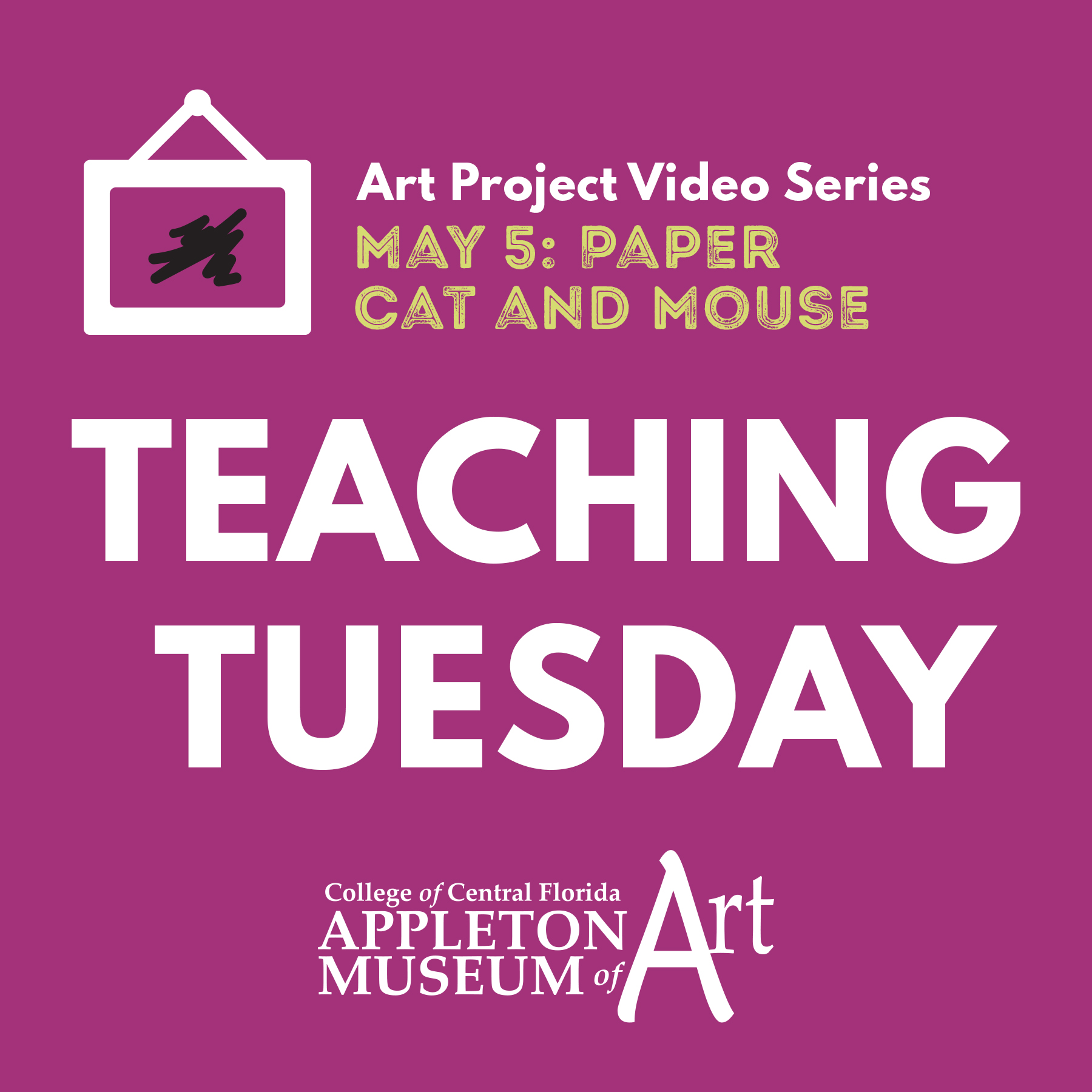 Teaching Tuesday: Paper Cat and Mouse