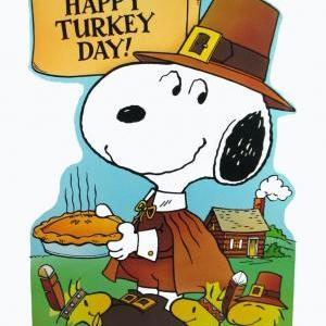 Calendar of Events - Good Grief It's Charlie Brown and the Gang - Charlie Brown Thanksgiving - Thanksgiving Celebration