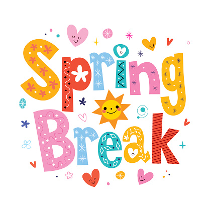 Calendar of Events - Spring Break