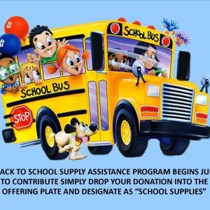 Back to School Supply Assistance Program - Supply Pick Up Day