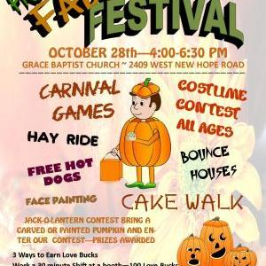 Calendar of Events - Fall Festival