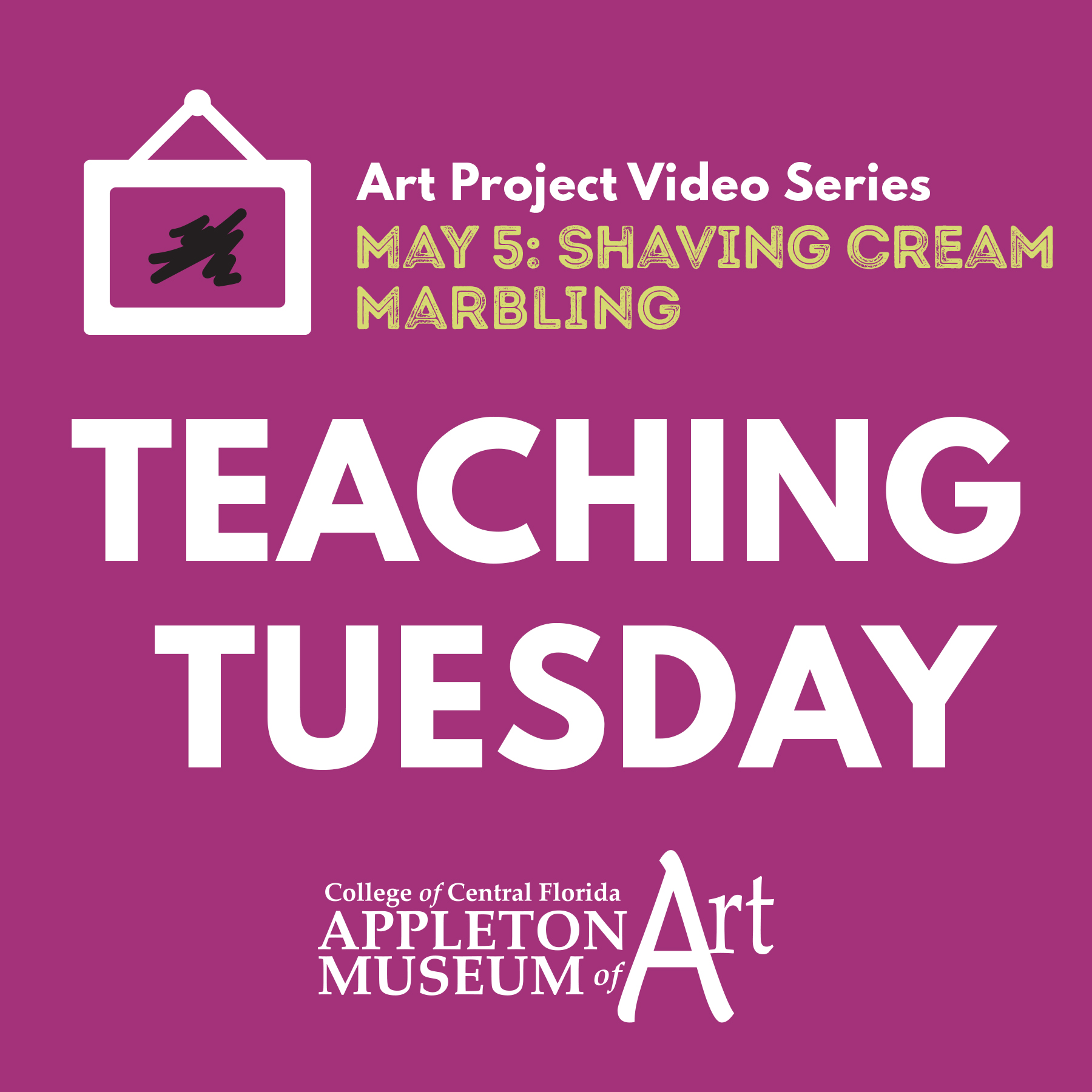 Teaching Tuesday: Shaving Cream Marbling