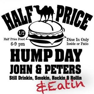 John & Peter's Live - Half Price Hump Day