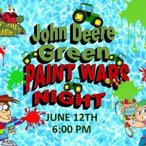 Down on the Farm - John Deere Green Paint Wars Night
